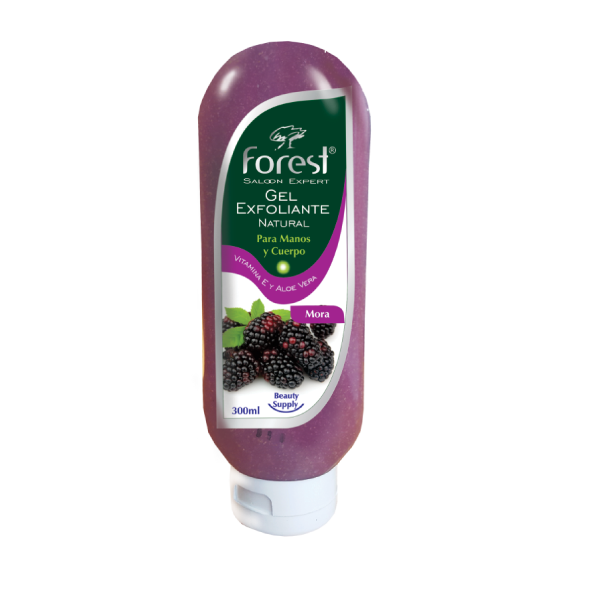 gel exfoliante forest de mora